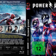 Power Rangers (2017) R2 German Custom Blu-Ray Covers