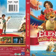 Elena and the Secret of Avalor (2017) R1 DVD Cover