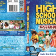 High School Musical 2 (2007) R1 DVD Cover