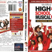 High School Musical 3 Extended Edition (2009) R1 DVD Cover