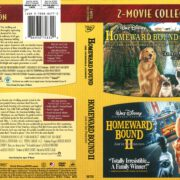 Homeward Bound: The Incredible Journey/Homeward Bound II: Lost in San Francisco 2-Movie Collection (1996) R1 DVD Cover