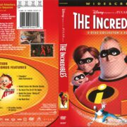The Incredibles (2004) R1 DVD Cover