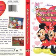 Mickey & Minnie's Sweetheart Stories (2004) R1 DVD Cover