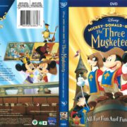 Mickey Donald Goofy: The Three Musketeers (2014) R1 DVD Covers