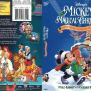 Mickey's Magical Christmas: Snowed in at the House of Mouse (2001) R1 DVD Cover