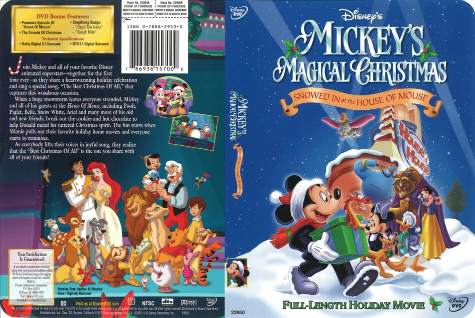 Mickeys Christmas Carol Dvd.Mickeys Christmas Carol Dvd Cover