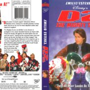 D2: The Mighty Ducks (1994) R1 DVD Cover