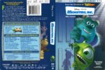 Monsters, Inc (2001) R1 DVD Cover