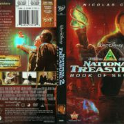 National Treasure 2: Book of Secrets (2008) R1 DVD Cover