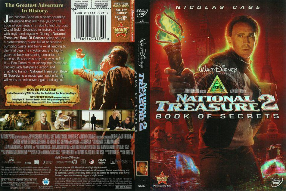National Treasure Book Of Secrets Subtitle