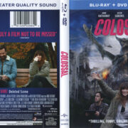 Colossal (2017) R1 Blu-Ray Cover & Label