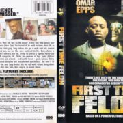 First Time Felon (2010) R1 WS Cover & Label