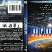 Independence Day Resurgence (2016) R1 WS Blue-Ray Cover & Label