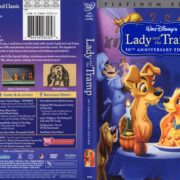 Lady and the Tramp 50th (2006) R1 FS Cover & Labels