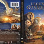 Legend of the Guardians The Owls of Ga'Hoole (2010) R1 WS Cover & Label
