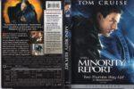 Minority Report (2002) R1 FS Cover & Label