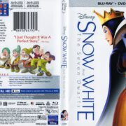Snow White and the Seven Dwarfs (2016) R1 WS Blue-Ray Cover & Label