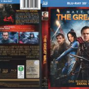 The Great Wall 3D (2017) R2 Italian Blu-Ray Cover & Label