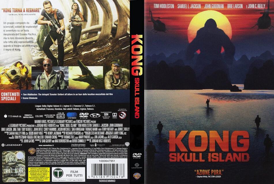 Kong Skull Island 2017 R2 Italian Dvd Cover Dvdcover Com