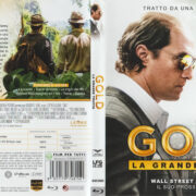 Gold (2016) R2 Italian Blu-Ray Cover & Label