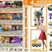 Despicable Me 1-3 & Minions (2010-2017) R1 Custom Blu-Ray Cover