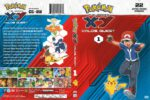 Pokemon XY: Kalos Quest Volume 1 (2016) R1 DVD Cover