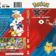 Pokemon XY: Kalos Quest Volume 1 (2016) R1 DVD Cover