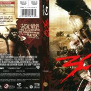 The 300 (2007) R1 Blu-Ray Cover