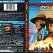 Cowboys & Aliens (2011) R1 Blu-Ray Cover