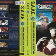 Tsubasa the Movie/xxxHolic The Movie Double Feature (2005) R1 DVD Cover