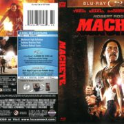 Machete (2010) R1 Blu-Ray Cover