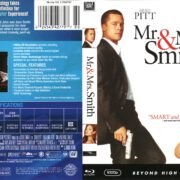 Mr. & Mrs. Smith (2005) R1 Blu-Ray Cover