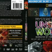 National Geographic: Mysteries of the Unseen World (2013) R1 Blu-Ray Cover