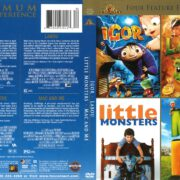 4 Feature Films: Igor/Mac and Me/Little Monsters/Labou (2011) R1 DVD Cover