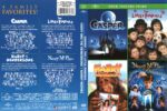 4 Feature Films: Casper/Little Rascals/Harry and the Hendersons/Nanny McPhee (2012) R1 DVD Cover