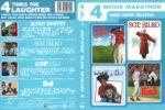4 Movie Marathon: Dudley Do-Right/Sgt. Bilko/Cop and a Half/Ed (2011) R1 DVD Cover