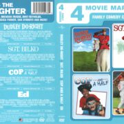 4 Movie Marathon: Dudley Do-Right/Sgt. Bilko/Cop and a Half/Ed (2011) R1 DVD Cover