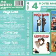 4 Movie Marathon: Pure Luck/King Ralph/Ghost Dad/For Richer or Poorer (2012) R1 DVD Cover