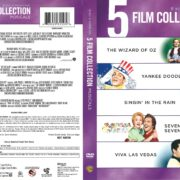 5 Film Collection: Musicals (2013) R1 DVD Cover
