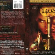 1408 (2007) R1 DVD Cover