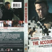 The Accountant (2016) R1 DVD Cover V2