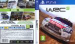 WRC 5 (2015) PAL PS4 Cover
