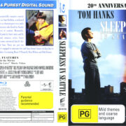 Sleepless In Seattle (1993) R1 Blu-Ray Cover & Label
