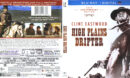 High Plains Drifter (2013) R1 Blu-Ray Cover & Label