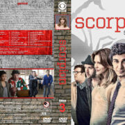 Scorpion – Season 3 (2017) R1 Custom Cover & Labels