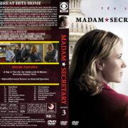 Madam Secretary – Season 3 (2017) R1 Custom Cover & Labels