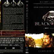 Black Sails – Season 3 (2015) R1 Blu-Ray Cover
