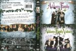 The Addams Family and Addams Family Values Double Feature (2006) R1 DVD Cover