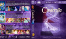 Cinderella Collection (1950-2007) R1 Custom Blu-Ray Cover V2