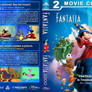 Fantasia Double Feature (1940-1999) R1 Custom Blu-Ray Cover V2